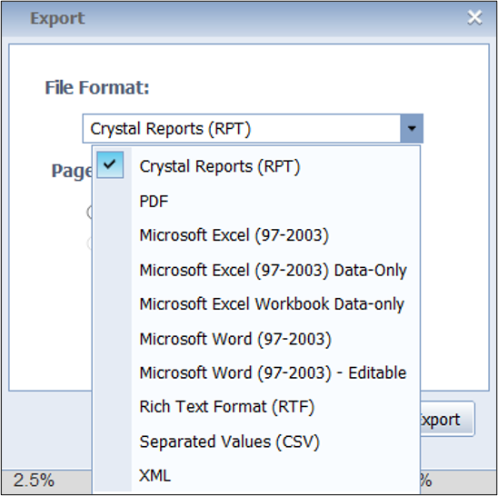 mykw_reports_export_options.png